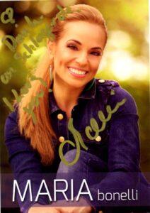 Autogrammkarte von Maria Bonelli