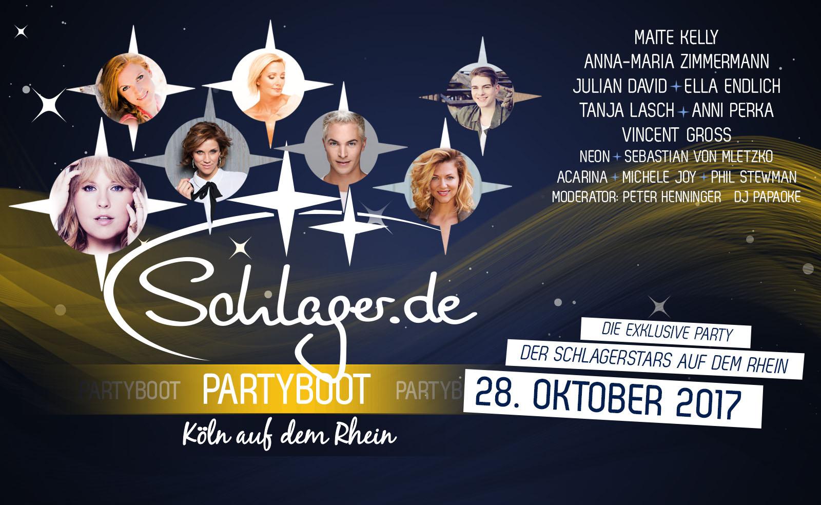 Schlager.de-Partyboot 2017