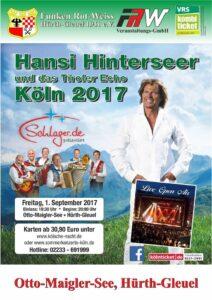 Hansi Hinterseer in Köln 2017
