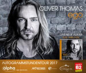 Oliver Thomas auf alpha Autogrammstunden Tour