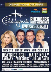 """Die Stars der """"Schlager.de-Partynacht"""""""