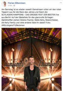 Facebook-Posting von Florian Silbereisen