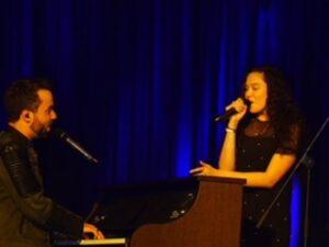 Jonathan Zelter und Natasha Sass