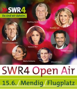 Plakat SWR4 Open Air