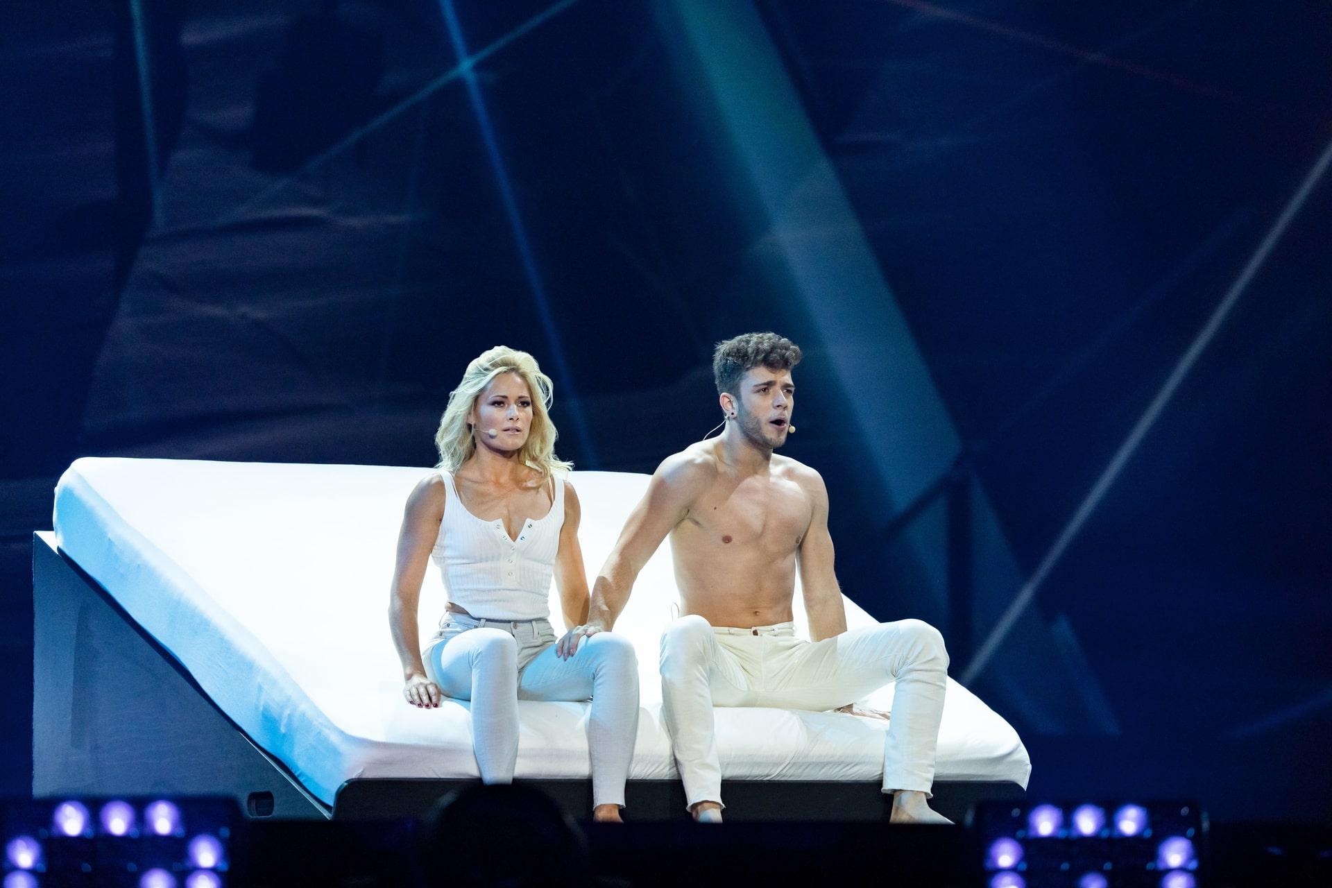 Helene Fischer und Luca Hänni