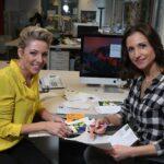 Hatten sichtlich Spaß: Anita & Alexandra Hofmann