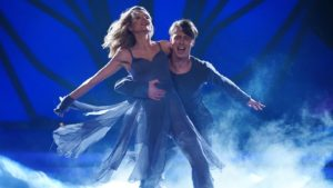 Ella Endlich mit Tanzpartner Valentin