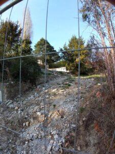 Die Abrissruine im 19. Bezirk