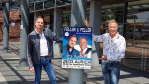 Feller & Feller freuen sich auf das große Ereignis
