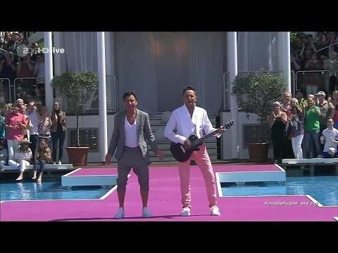 """FANTASY – """"Ich brenn durch mit Dir"""" (ZDF-Fernsehgarten 21.05.2017)"""
