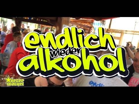 Endlich wieder Alkohol – Peter Wackel (offizielles Video)