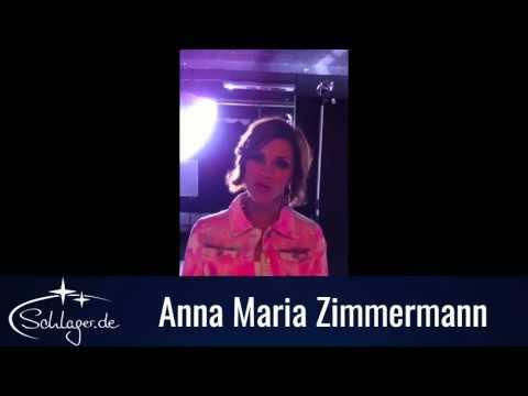 Anna-Maria Zimmermann grüßt die Fans von Schlager.de