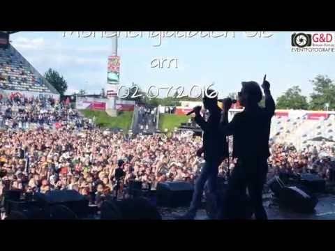 Matthias Reim – Live Zusammenschnitt von Mönchengladbach Olé 02.07.2016