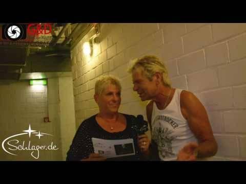 Matthias Reim Interview im E-Werk, Köln, 28.09.2016
