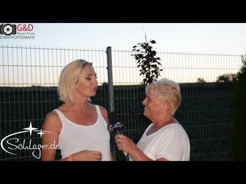 Tanja Lasch im Talk mit Schlager.de bei der Schlagernacht in Weiß