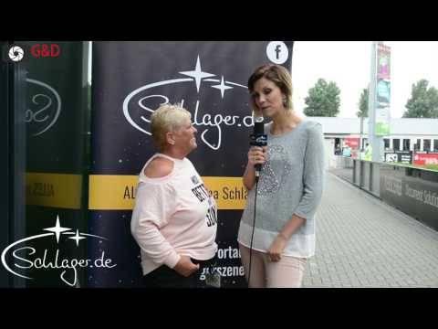 Anna-Maria Zimmermann im Talk bei der Olé Mönchengladbach