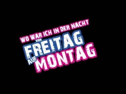 Die Nacht von Freitag auf Montag – Peter Wackel (offizielles Video)