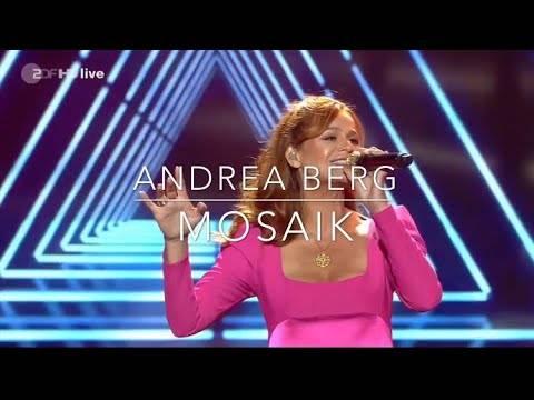 "Andrea Berg – ""Mosaik"" (plus Goldverleihung bei Willkommen bei Carmen Nebel)"