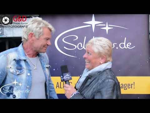 Matthias Reim Talk bei Nürburgring Olé 19.08.2017