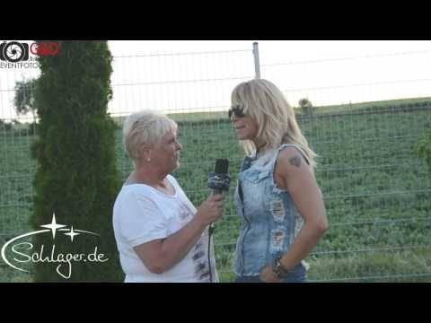 Rosanna Rocci im Talk mit Schlager.de bei der Schlagernacht in Weiß