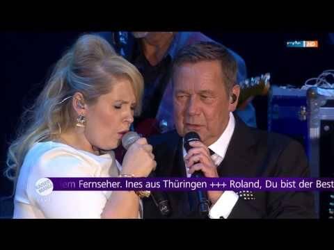 Roland Kaiser und Maite Kelly live in Dresden 01.08.2015 – Sag bloss nicht hello